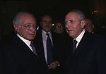 CARLO AZEGLIO CIAMPI CON ANTONIO MACCANICO - MATRIMONIO FLORIANA DE MITA CHIESA SS APOSTOLI ROMA 1998