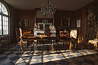 Europe/France/Aquitaine/33/Gironde/Pomerol: château Petrus - Le salon