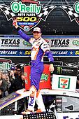 #11: Denny Hamlin, Joe Gibbs Racing, Toyota Camry FedEx Office wins