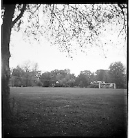 Soccer fields. From the Spartus Full Vue Collection
