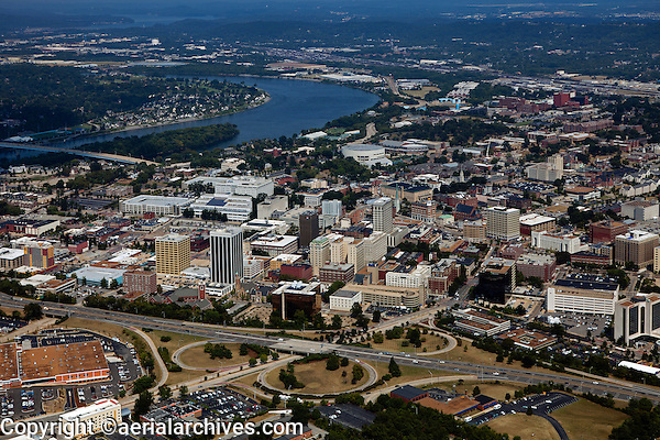 aerial photograph Chattanooga, Tennessee
