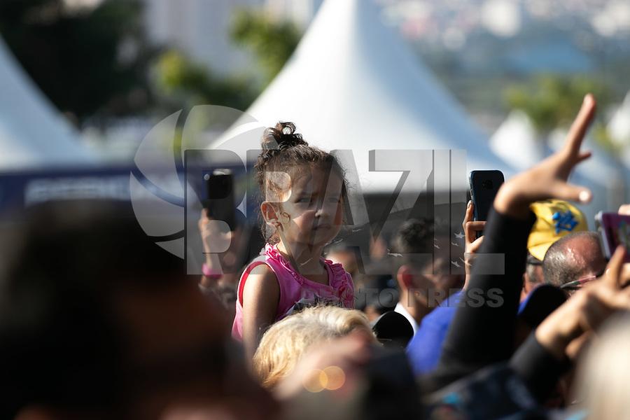 SAO PAULO, SP, 01.05.2019 - EVENTO-SP - Publico presente durante o Senna Day Festival no Autódromo de Interlagos, região sul de São Paulo nesta  quarta-feira, 01.<br /> <br /> <br /> (Foto: Fabricio Bomjardim / Brazil Photo Press / Folhapress)