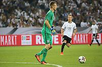 Torwart Lukas Hradecky (Finnland) - Deutschland vs. Finnland, Borussia Park, Mönchengladbach