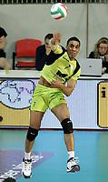 servizio di Leonell Marshall (MRoma)<br /> MRoma Volley vs Lube Macerata 3-0<br /> Play Off del Campionato Pallavolo Serie A1<br /> Roma, 09 Aprile 2008<br /> Photo Antonietta Baldassarre Insidefoto