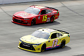 #13: Chad Finchum, Motorsports Business Management, Toyota Camry, #15: Colby Howard, JD Motorsports, Chevrolet Camaro Project Hope Foundation