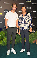 """Julius Cowdrey and Miles Nazaire at the """"Eating Our Way To Extinction"""" world film premiere, Odeon Luxe Leicester Square, Leicester Square, on Wednesday 08th September 2021, in London, England, UK. <br /> CAP/CAN<br /> ©CAN/Capital Pictures"""