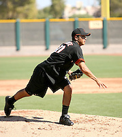 Edwin Quirate / San Francisco Giants 2008 Instructional League..Photo by:  Bill Mitchell/Four Seam Images