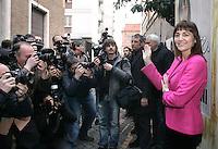 RENATA POLVERINI <br /> Roma 14/01/2010 Renata Polverini presenta la sede del comitato elettorale per la elezioni alla Presidenza della Regione Lazio.<br /> Photo Samantha Zucchi Insidefoto