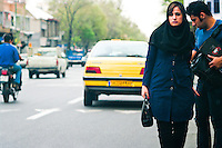 The logistics of transportation by taxi can be complex in Iran. Most people commute using shared taxis, a convenient and inexpensive form of public transport.
