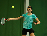 Almere, Netherlands, December 6, 2015, Winter Youth Circuit, Lara Panfilov (NED)<br /> Photo: Tennisimages/Henk Koster