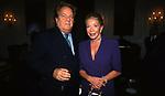 MASSIMO GARGIA COM MARINA DORIA DI SAVOIA<br /> COCKTAIL PARTY IN ONORE DI GORBACIOV - HOTEL BAGLIONI ROMA 11-2000