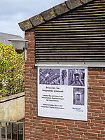 Eingang zum Bunker Museum Oberland, Insel Helgoland, Schleswig-Holstein, Deutschland, Europa<br /> Entrance of bunker museum, Oberland, Helgoland island, district Pinneberg, Schleswig-Holstein, Germany, Europe