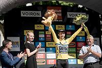 yellow jersey / GC leader Adam Yates (GBR/Mitchelton-Scott)<br /> <br /> Stage 5: Boën-sur-Lignon to Voiron (201km)<br /> 71st Critérium du Dauphiné 2019 (2.UWT)<br /> <br /> ©kramon