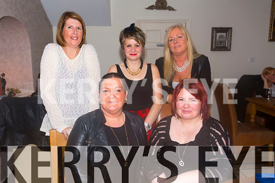 Girls Night Out Celebrating Christmas at Bella Bia's on Saturday.  Front l-r Jackie Duggan, Sarah Raymond.  Back l-r Kerry Davern, Tara Conway, Liz Keane