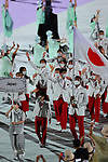 Japan delegation (JPN),<br />JULY 23, 2021 : <br />Tokyo 2020 Olympic Games Opening Ceremony at the Olympic Stadium in Tokyo, Japan. <br />(Photo by Yohei Osada/AFLO SPORT)