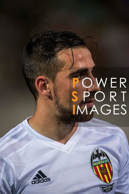 Paco Alcacer of Valencia CF looks on during LFP World Challenge 2014 between Valencia CF vs BC Rangers FC on May 28, 2014 at the Mongkok Stadium in Hong Kong, China. Photo by Victor Fraile / Power Sport Images