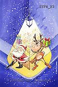 Fabrizio, Comics, CHRISTMAS SANTA, SNOWMAN, paintings, ITFZ23,#x# Weihnachten, Navidad, illustrations, pinturas
