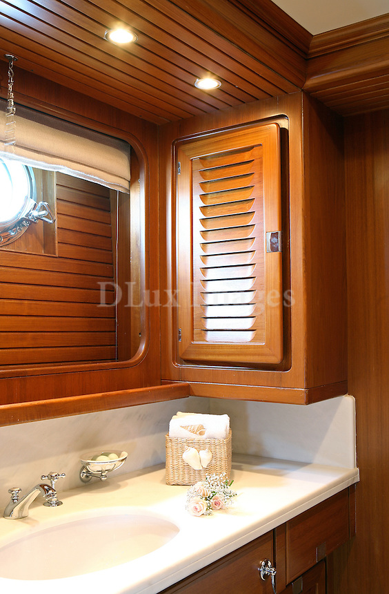 Luxury sailing yacht, Gitana,  provides charter guests with a spacious and uncluttered all weather cockpit .