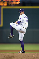 Winston-Salem Dash starting pitcher Brannon Easterling (27) in action against the Buies Creek Astros at BB&T Ballpark on April 13, 2017 in Winston-Salem, North Carolina.  The Dash defeated the Astros 7-1.  (Brian Westerholt/Four Seam Images)