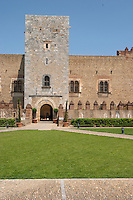 Palais des Rois de Majorque, Palace of the Majorca Kings. Perpignan, Roussillon, France.