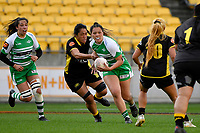 Kaipo Olsen-Baker of the Manawatu during the Farah Palmer Cup Rugby – Wellington v Manawatu at Sky Stadium, Wellington, New Zealand on Friday 25 September 2020. <br /> Photo by Masanori Udagawa. <br /> www.photowellington.photoshelter.com