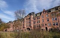 Nederland  Amsterdam  2020.   Huizen in de Zaanstraat.  Foto : ANP/ HH / Berlinda van Dam
