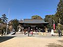 Yuzuruha Shrine in Kobe, Japan