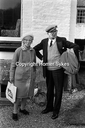 The Tichborne Dole, Tichborne Hampshire England. 1974 March.