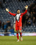 Wes Foderingham doing an Andy Halliday