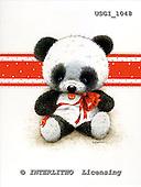 GIORDANO, CUTE ANIMALS, LUSTIGE TIERE, ANIMALITOS DIVERTIDOS, Teddies, paintings+++++,USGI1048,#AC# teddy bears