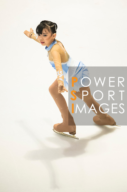 Atikarn Uersilapasarst competes in the during the Asian Junior Figure Skating Challenge 2015 on October 07, 2015 in Hong Kong, China. Photo by Aitor Alcalde/ Power Sport Images
