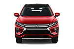 Car photography straight front view of a 2019 Mitsubishi Eclipse-Cross SEL 5 Door SUV
