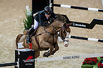 Michael Whitaker of United Kingdom riding Viking in action during the Hong Kong Jockey Club Trophy competition as part of the Longines Hong Kong Masters on 13 February 2015, at the Asia World Expo, outskirts Hong Kong, China. Photo by Victor Fraile / Power Sport Images