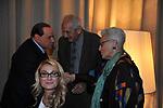 SILVIO BERLUSCONI, ROMANA LIUZZO CON OTTAVIO E ROSITA MISSONI<br /> PREMIO GUIDO CARLI - TERZA  EDIZIONE<br /> PALAZZO DI MONTECITORIO - SALA DELLA LUPA<br /> CON RICEVIMENTO  HOTEL MAJESTIC   ROMA 2012