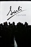Roma 26/1/2004 <br /> Alta Moda Roma - Haute Couture - Fashion<br /> Dress collection of stylist Fausto Sarli<br /> Foto Andrea Staccioli Insidefoto
