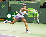March 28 2018: Venus Williams (USA) loses to Danielle Collins (USA) 2-6, 3-6, at the Miami Open being played at Crandon Park Tennis Center in Miami, Key Biscayne, Florida. ©Karla Kinne/Tennisclix/CSM