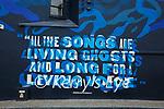 Mural on wall on Church Street, Listowel.