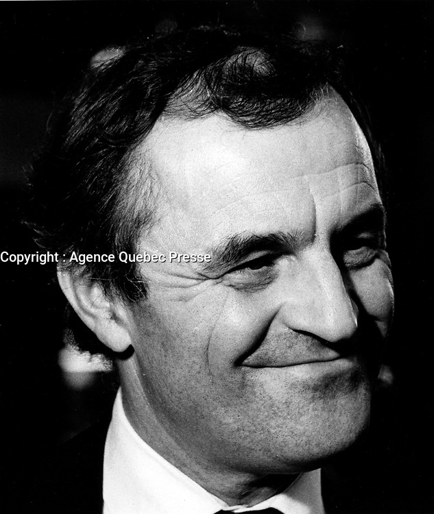 Montreal (QC) CANADA - November 1984 File photo Charles Dutoit, Montreal Symphonic Orchestra Conductor
