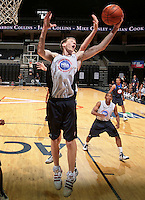 Cody Zeller at the NBPA Top100 camp June 17, 2010 at the John Paul Jones Arena in Charlottesville, VA. Visit www.nbpatop100.blogspot.com for more photos. (Photo © Andrew Shurtleff)