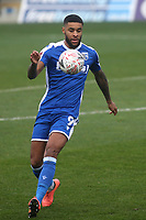 Dominic Samuel of Gillingham in action during Gillingham vs Exeter City, Emirates FA Cup Football at the MEMS Priestfield Stadium on 28th November 2020