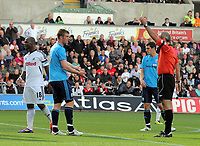 Pictured: Leroy Lita of Swansea City. Saturday 17 September 2011<br /> Re: Premiership football Swansea City FC v West Bromwich Albion at the Liberty Stadium, south Wales.