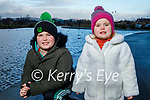 Enjoying a walk in the Tralee Bay Wetlands on Friday, l to r: Mason and Layla Corkery .