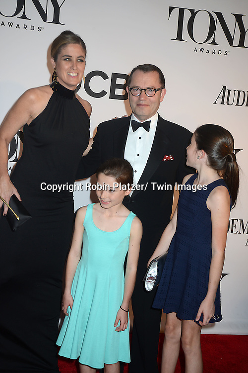 Colin Calender and family the 67th Annual Tony Awards on Sunday, June 9th at Radio City Music Hall in New York City.