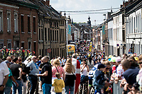 a lot of people show up in the start town of Binche (last stop in Belgium)<br /> <br /> Stage 3: Binche (BEL) to Épernay (FRA) (214km)<br /> 106th Tour de France 2019 (2.UWT)<br /> <br /> ©kramon