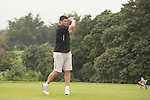 Yao Ming plays during the World Celebrity Pro-Am 2016 Mission Hills China Golf Tournament on 23 October 2016, in Haikou, Hainan province, China. Photo by Marcio Machado / Power Sport Images