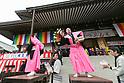 Setsubun festival at Naritasan Shinshoji Temple