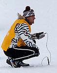 Vancouver 2010 - Para Nordic Skiing // Ski paranordique.<br /> Jody Barber competes in Para Biathlon // Jody Barber participe en parabiathlon. 13/03/2010.