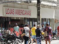 Recife (PE), 25/03/2021 - Quarentena-Recife - Movimentação intensa no bairro da Boa Vista região central de Recife nesta quinta-feira (25).