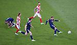 22.06.2021 Croatia v Scotland: Ryan Fraser has a shot
