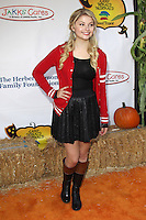 UNIVERSAL CITY, CA - OCTOBER 21:  Stefanie Scott at the Camp Ronald McDonald for Good Times 20th Annual Halloween Carnival at the Universal Studios Backlot on October 21, 2012 in Universal City, California. © mpi28/MediaPunch Inc. /NortePhoto